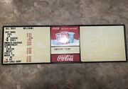 6ft Coca Cola Restaurant Menu Sign W/ Letters And Numbers - Advertising