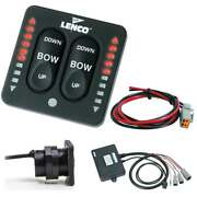 Lenco Led Indicator Two-piece Tactile Switch Kit W/pigtail F/single Actuator