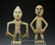 Ethnographic Art Sculptures Moroccan Soapstone Stone Hand Carved Figures 2