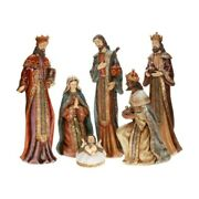 Mark Roberts 2013 And Older Grand Byzantine Nativity Set Of 6 5-26 Inches
