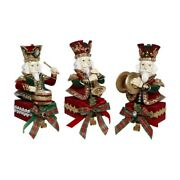 Mark Roberts 2019 Band Of Nutcracker Stocking Holder Assortment Of 3 11 Inches