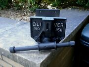 Vintage Oliver 150 Wood Workers Pattern Makers Quick Release Vise Vice