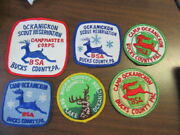 Camp Ockanickon Lot Of 6 Camp Patches   Cov11  1