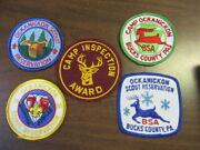 Camp Ockanickon Lot Of 5 Camp Patches   Cov11  2