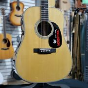 Martin D-35 Woodstock 50th Anniversary Natural D35 New In Box Free Ship 159