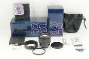 Exc+++ Contax Zeiss Planar 85mm F/1.2 Mmg 60 Years Edition From Japan 5234