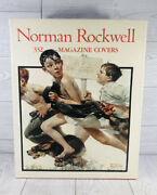 Norman Rockwell 332 Magazine Covers Large Hardcover Book - 1st Ed. 11th Printi