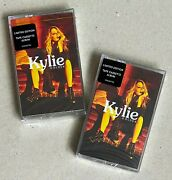 Kylie Minogue Golden 2x Oop Limited Cassette - Black And Yellow Spools Bnandm