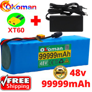 48v Lithiumion Battery Ebike Lithium Motor Scooter 99999mah Charger Bicycle Ion