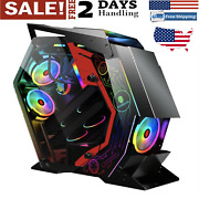 Atx Computer Gaming Case Special-shaped Support M-atx/ Itx Motherboard Pc Gamer