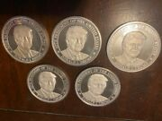 Commemorative 2016 President Donald Trump 1 Oz Silver Rounds First Year Of...
