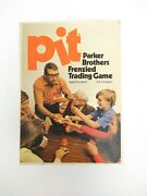 Pit Parker Brothers Frenzied Trading Commodities Vintage Card Game 1973 No. 661