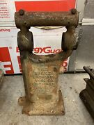 Burke 3 And 4 Mill Milling Machine Stripped Frame