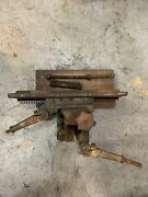 Burke 3 And 4 Mill Milling Machine Lever Feed And Surface Grinder Table M426