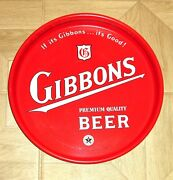 Gibbons 13 Beer Tray Gibbons Brewing Co Wilkes Barre Pa