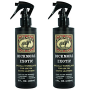 Bickmore Exotic 8oz 2-pack - Specially Formulated Leather Spray Used To Clean And