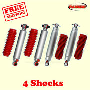 Rs9000xl Frontandrear 1-2.5 Lift Shocks For Chevy Blazer 4wd 92-94 Kit 4 Rancho