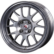 Crimson Rs St Air 15x6.5j +35 Brushed Set Of 4 For Scion Xb From Japan