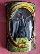 2001 Toybiz-lord Of The Rings-fellowship Of The Ring-gandalf/light-up Staff