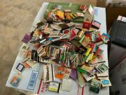 Vintage Matchbook Collection Hotel Motel Very Rare Items/ Most West Of The River