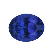 Aaaa Blue Tanzanite Loose Gemstone Faceted Oval Shape For Jewelry Making Ct 4.76
