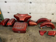 1986 Harley Electra Glide Flht Evo Tin Set Gas Tank Fenders Side Covers Bags