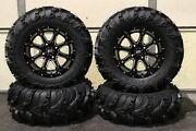 Suzuki King Quad 500 27 Mud Lite Ii 14 Sti Hd4 Atv Tire And Wheel Kit Irs1ca