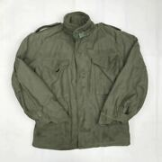60s Vintage Us Army M-65 Field Jacket Khaki Us Army Real Menand039s Xs Rare Used