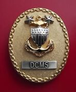 Us Coast Guard Dcms Master Chief Petty Officer Badges E-9 New Badge