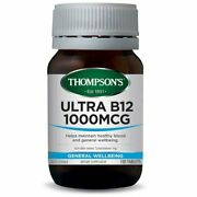 Ultra B12 1000mcg Sublingual Tablets Thompsons 100 Tabs - Ozhealthexperts