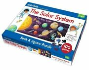 The Solar System Book And Jigsaw Puzzle 9780655216551   Brand New