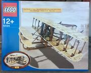 Lego 10124 Wright Flyer | New 2003 Discontinued Airplane 664 Piece Set