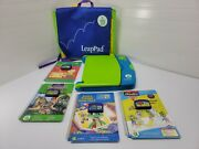 Nice - Leapfrog Leappad Learning System + Bag And 4 Books/games - Home School