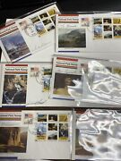 National Park Service Rvp1 First Day Covers Set Of Six Signed By Designer Rare
