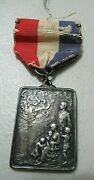 Rare 19th Century Ny City Fire Department Medal, Sterling Silver, Thomas Muldoon