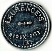 Laurence's Sioux City, Iowa Good For 5 Cents In Food