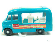 Vintage Lesney Matchbox 47 Commer Ice Cream Canteen Blue