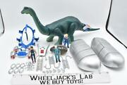 Dino Riders Diplodocus Works Complete Questar Aries Mind-zei Figure 1980and039s Tyco
