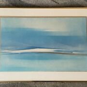 Signed Earl Stroh Framed Art Print 5/40 The First Day 22x32