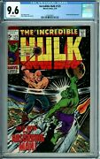 Incredible Hulk 125 Cgc 9.6 Wp Sci-fi Cover Absorbing Man New Case Marvel 1970