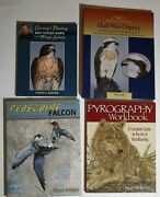 Bird And Duck Wildlife Design Carving Painting Books Lot 2 Hardcover Softcover