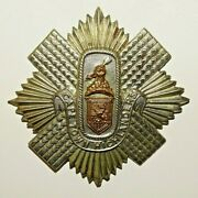 British Military Cap Badge The Capetown Highlanders South African 1902-1913