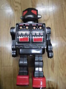 Horikawa Super Space Giant Battery Operated Robot Tin Toy Hobby Vintage Japan