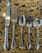 Paul Revere By Towle Sterling Silver Flatware Set For 4 By 5 And Not Monogrammed