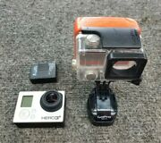 Gopro Hero3+ Chdhx-302 Camcorder - Black With Accessories As-is