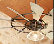 New Quorum 95210-86 Windmill 52 Ceiling Fan Oiled Bronze Light Kits Available