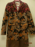 Etro Milano Women's Wool Coat Size 42. Made In Italy