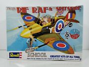 Revell 85-1738 Dealand039s Wheels Flt. Lft. Rif Raf And His Spitsfire New Rare Oop