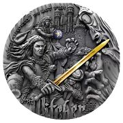 The Witcher - Last Wish - 5 Dollars Niue 2019 2 Oz Silver Coin Available Now