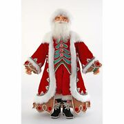 Katherineand039s Collection 2021 Gingerbread Forest Santa Doll